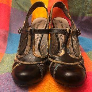 Anthropologie Bobbi Blu Lola Heels 6.5